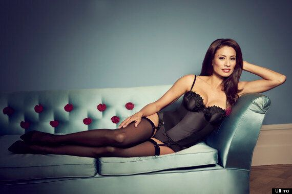 Melanie Sykes Strips Off To Model New 'Adore Moi By Ultimo' Underwear