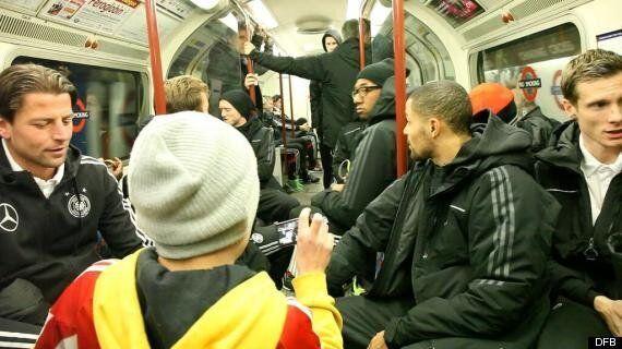 Germany Take Tube To Wembley Park Ahead Of England Friendly