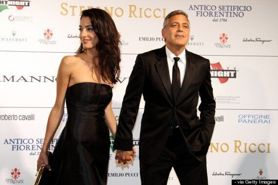 George Clooney Reveals He's Marrying Fiancée Amal Alamuddin 'In A Couple Of Weeks' After Couple Make...