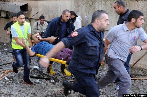 Beirut Bomb Blast Rips Through Iran Embassy (GRAPHIC
