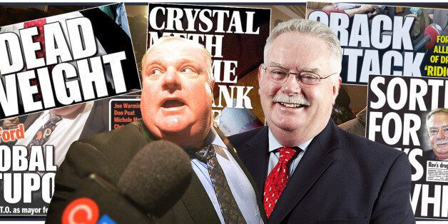 Rob Ford And Paul Flowers: Is Media Coverage Fuelling Stigma Around