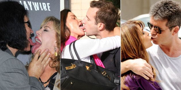 The 42 Worst Celebrity Kisses, Starring Simon Cowell, Kim Kardashian And Justin Bieber