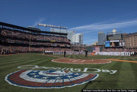 Major League Baseball 2014: Opening Day