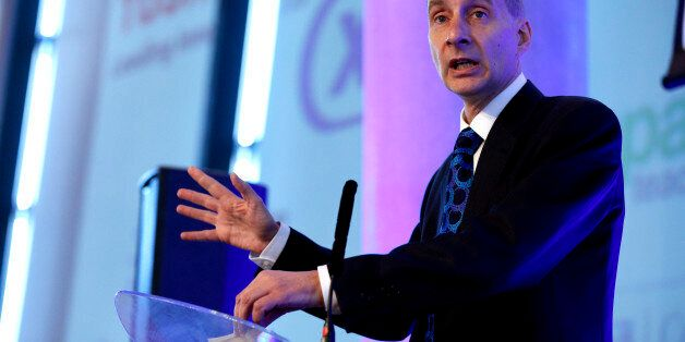 Lord Andrew Adonis, Honorary President of the Independent Academies Association, addresses the organisation's...
