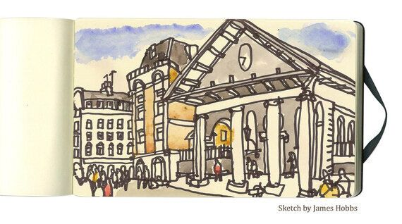 Urban Sketchers at Covent Garden (and How to Become