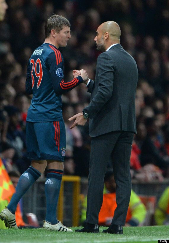 Toni Kroos, Manchester United Target, Involved In Touchline Dispute With Pep Guardiola