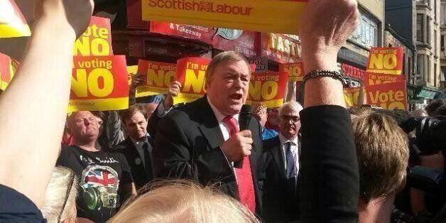 Scottish Independence: John Prescott Suggests Merging England And Scotland Football