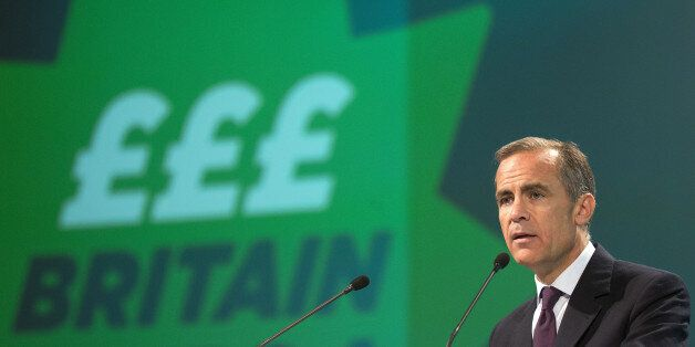 Mark Carney, governor of the Bank of England, speaks at the annual meeting of the Trades Union Congress...