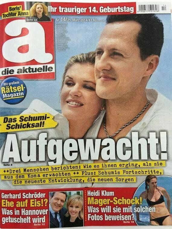 Michael Schumacher Fans Slam German Magazine Over 'Awake'