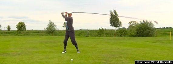 World's Longest Golf Club Looks