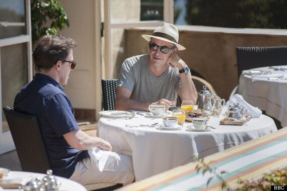 'The Trip To Italy's Rob Brydon Reveals He And Steve Coogan Got Very Drunk Filming Dinner Scenes