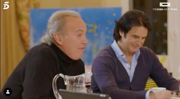 """Bertín Osborne rompe a llorar en 'Mi casa es la tuya' (Telecinco): """"Era la fan más"""