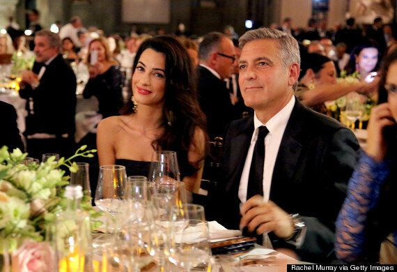 George Clooney Tells Fiancée Amal Alamuddin 'I Can't Wait To Be Your Husband' Ahead Of Venice