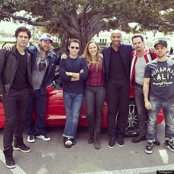 Thierry Henry On Set And To Appear In Entourage Movie