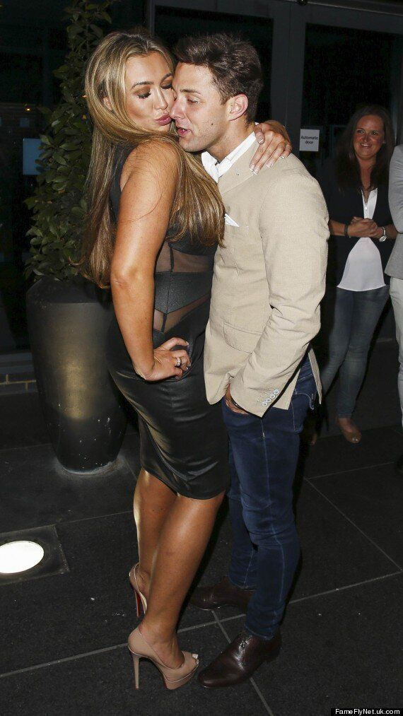 'Celebrity Big Brother' Housemates Lauren Goodger And Ricci Guarnaccio Share An Awkward Kiss After Double...