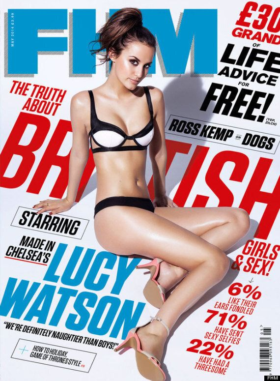'Made In Chelsea' Star Lucy Watson Strips For Racy Photo Shoot And Reveals She Loves To Dress Up In The