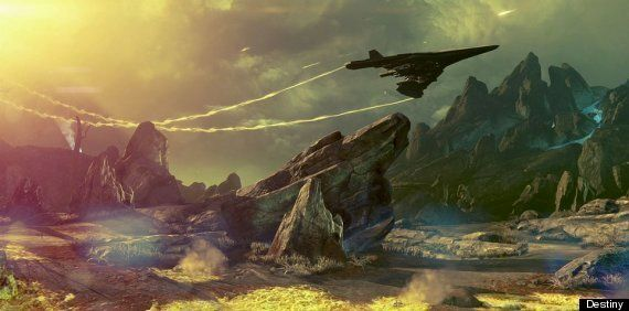 'Destiny': Like This Review, Bungie's Space Epic Is A Work In