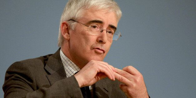 Lord Freud, Parliamentary Under Secretary of State at the Department for Work and Pensions addresses...