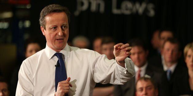 David Cameron's Waitrose Comments: A