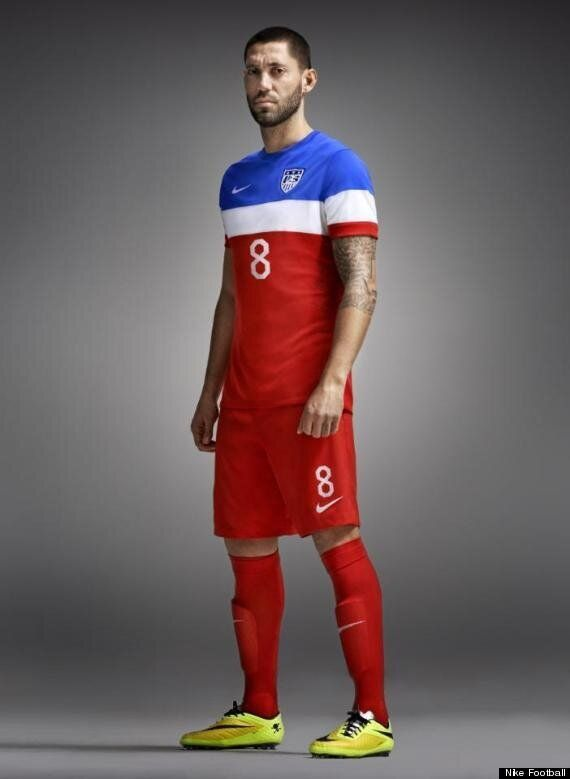 USA Nike Away Kit Criticised For Being 'Russian'