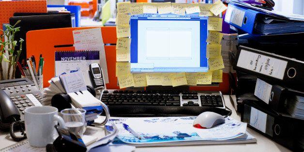 Cluttered Desks And Jetlag Part Of New