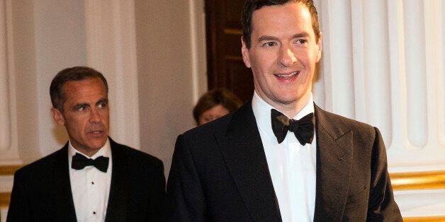Osborne And Carney Are Staying In UK For Scottish Independence