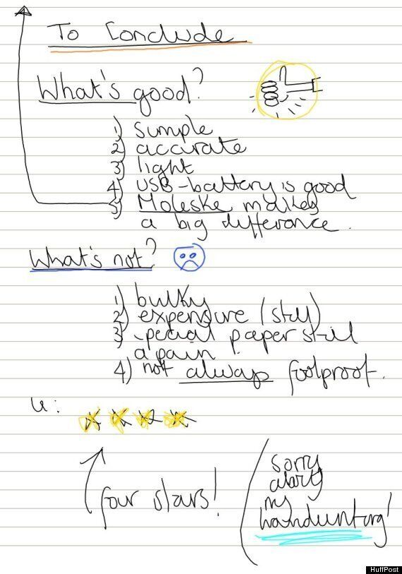 Livescribe 3 Review: Let's Review A Digital Pen Using... A Digital