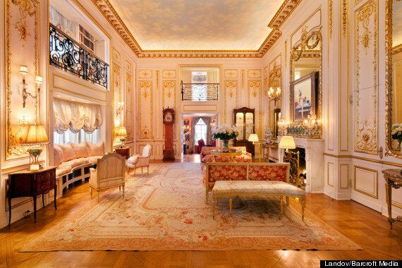 Take A Look Inside Joan Rivers' Luxury New York Apartment, Featuring Gold Columns, Crystal Chandeliers......