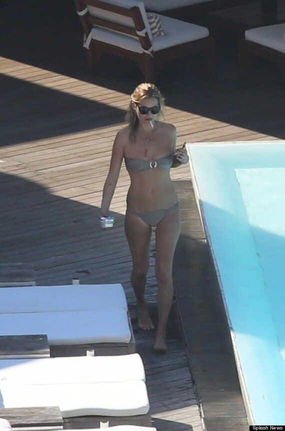 Kate Moss Shows Off Her Supermodel Bikini Body On Holiday In Rio