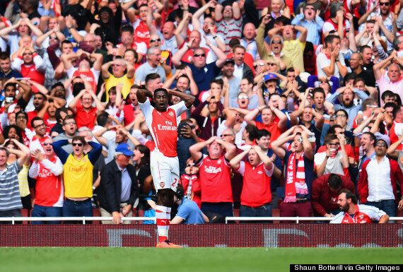 Arsenal 2-2 Manchester City: Jack Wilshere Leaves Danny Welbeck In The