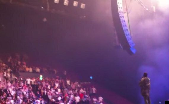 Kanye West Tells A Man In A Wheelchair To Stand Up During Sydney Gig In New Video Footage