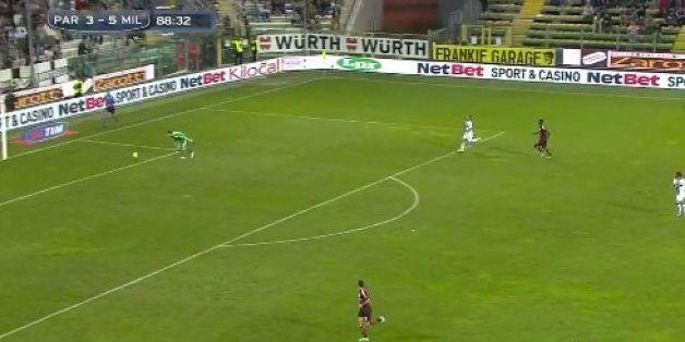 Diego López's Howler Gifts Parma Goal V AC Milan