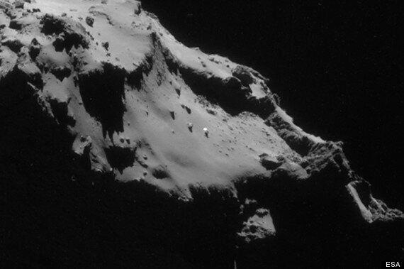 UFO Sighted On Surface Of Rosetta