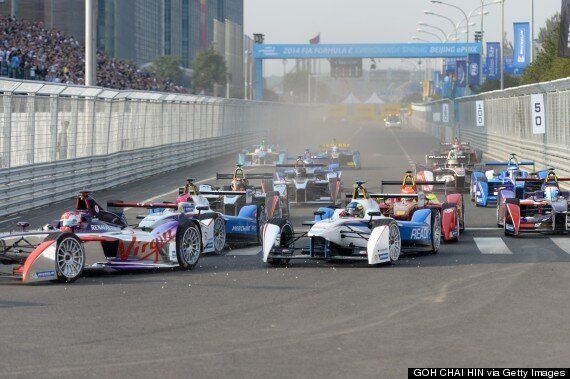 Formula E Ends Its First Race With Huge