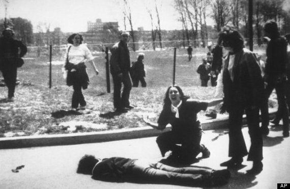 Four Students Died At Kent State Shootings. This Is Urban Outfitter's Latest Blood-Spattered 'Vintage'