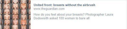 Facebook Censors Women's
