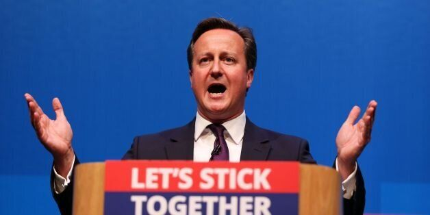 Prime Minister David Cameron makes a speech in Aberdeen where he spoke for the millions across the UK...