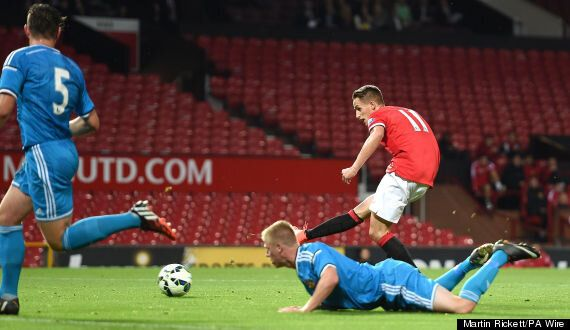Adnan Januzaj Scores Hat-Trick For Manchester United U-21s