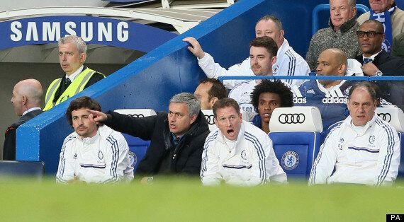 Chelsea 3-0 Stoke CIty: José Mourinho Looks Defeated Even In