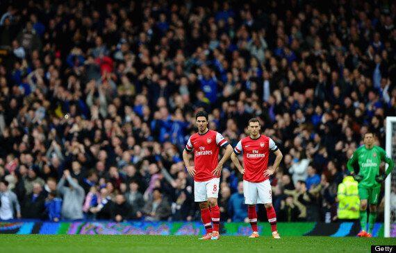 Everton 3-0 Arsenal: 'Spineless' Gunners Can't