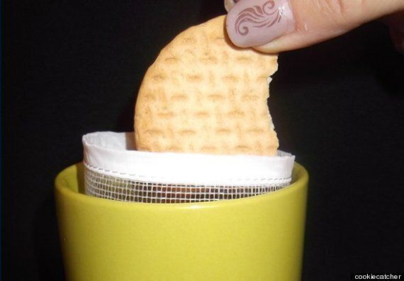 Soggy Biscuit Catcher Is Clearly The Greatest Teatime Gadget