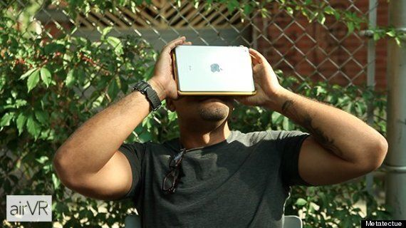This VR Headset Involves Strapping An iPad To Your