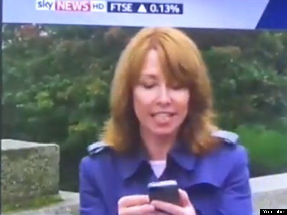 Scottish Independence: Kay Burley Calls 'Stick-Wielding' Campaigner A Knob Live On