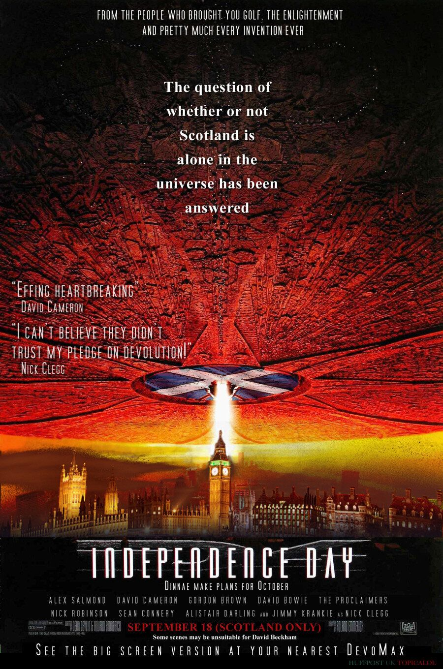 It's Here: The British Remake Of 'Independence