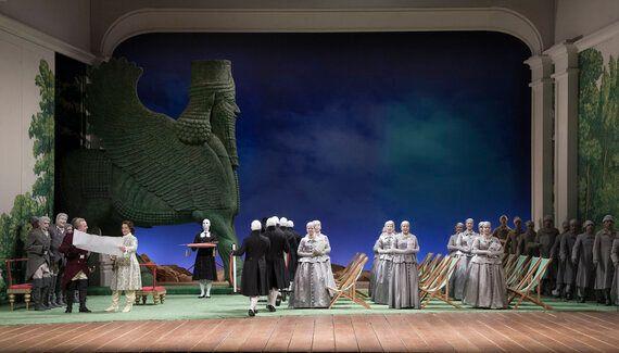Xerxes: Handel's Baroque Opera With a Minimalist