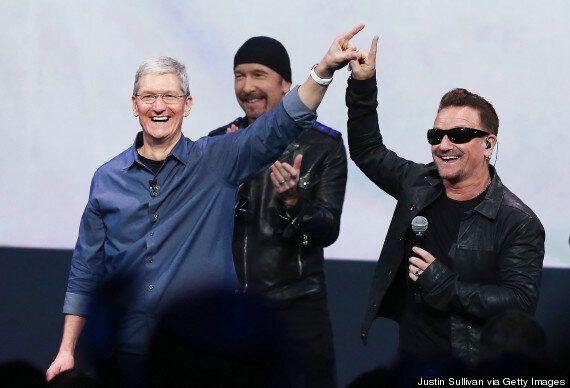 Sharon Osbourne Slams U2's Free Album 'Songs Of Innocence' On Twitter, Brands Group 'Middle Aged Political