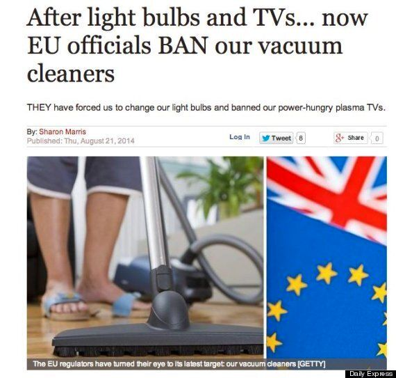 'EU Bans Your Vacuum Cleaner' Fuss Really Helped Our