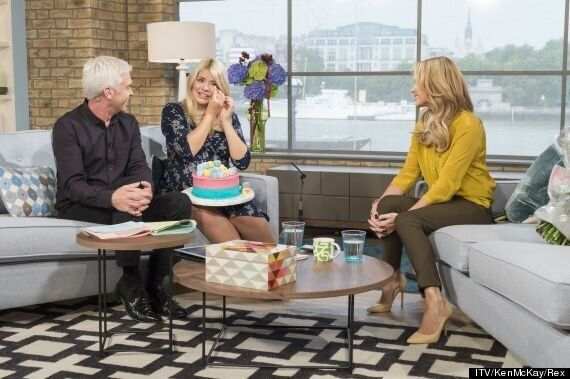 Pregnant Holly Willoughby Cries During Final 'This Morning' Appearance Before Maternity Leave, Hands...