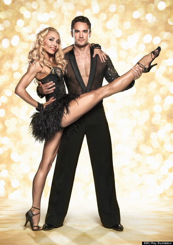 'Strictly Come Dancing': Thom Evans' Pro Partner Iveta Lukosiute Admits Crush - Is This 2014's Big