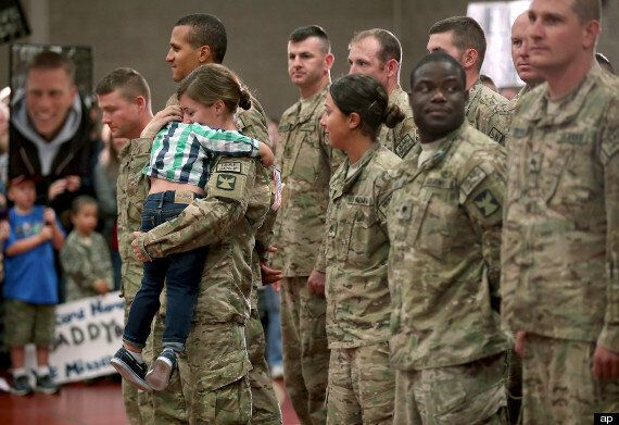 Toddler Breaks Military Protocol To Greet Returning Soldier